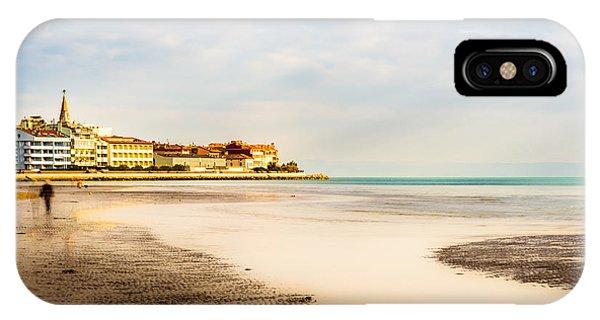 Take A Walk At The Beach IPhone Case