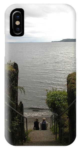 Take In The View IPhone Case