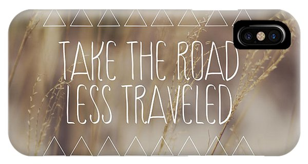 Take The Road Less Traveled Phone Case by Jillian Audrey Photography