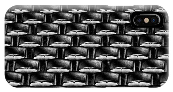 Chair iPhone Case - Take Your Seats Please! by Hans-wolfgang Hawerkamp