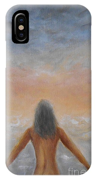 Taking The Plunge IPhone Case