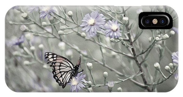 Taking Time To Smell The Flowers IPhone Case