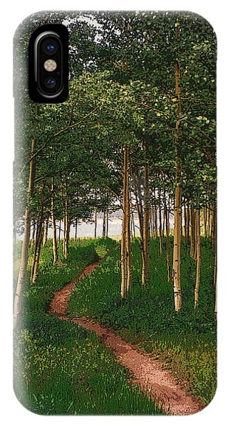 Taking Tthe Path Less Traveled Phone Case by Carl Bandy