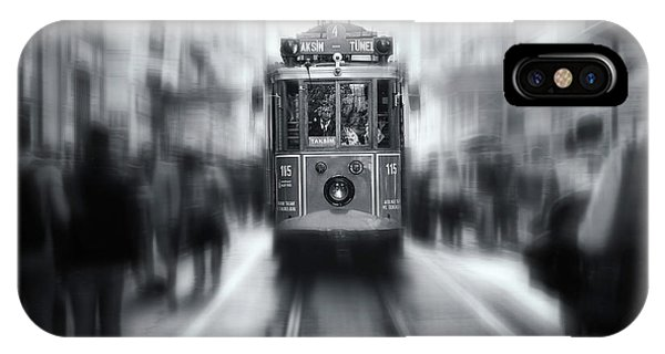 Track iPhone Case - Taksim-tunel by Yavuz Pancareken