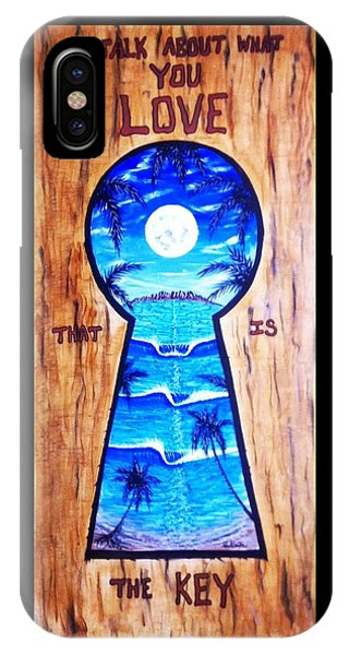 Talk About Love IPhone Case