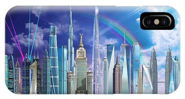 Empire State Building iPhone Case - Tall Buildings by MGL Meiklejohn Graphics Licensing