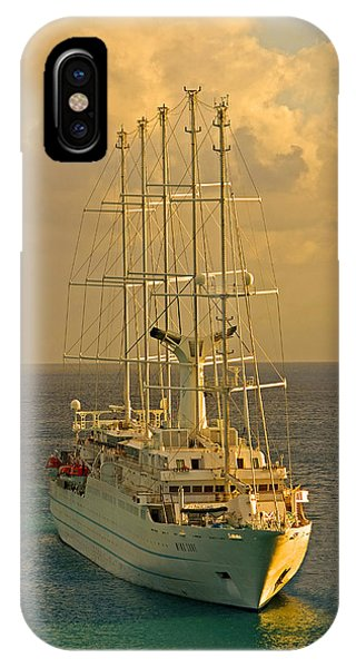 Tall Ship Cruise IPhone Case
