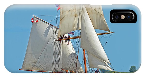 Tall Ship Pathfinder IPhone Case