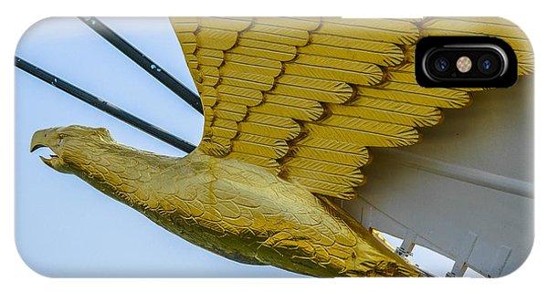 Tall Ship Uscg Barque Eagle Masthead IPhone Case