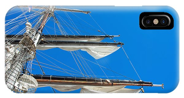 Tall Ship Yards IPhone Case