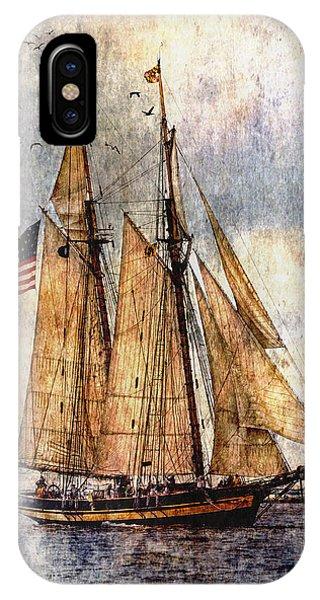 Tall Ships Art IPhone Case