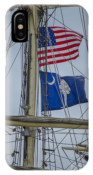 Tall Ships Flags IPhone Case