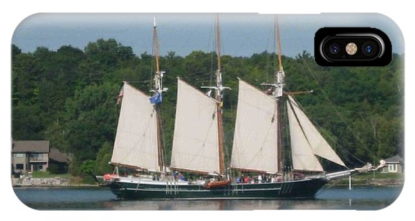Tall Ships In The Morning IPhone Case