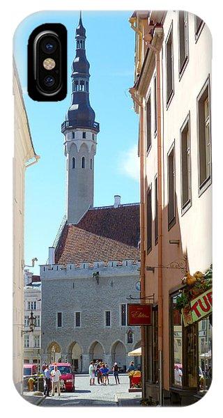 Tallinn City Hall IPhone Case