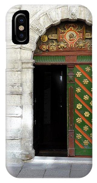 Tallinn Doorway IPhone Case