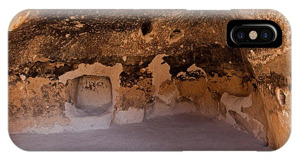 Talus Housefront Room Bandelier National Monument IPhone Case