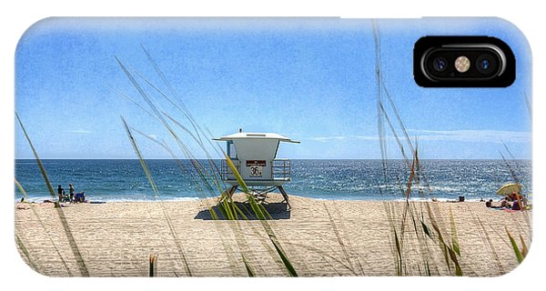 iPhone Case - Tamarack Beach by Ann Patterson