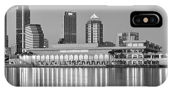 Inner World iPhone Case - Tampa Panorama by Frozen in Time Fine Art Photography