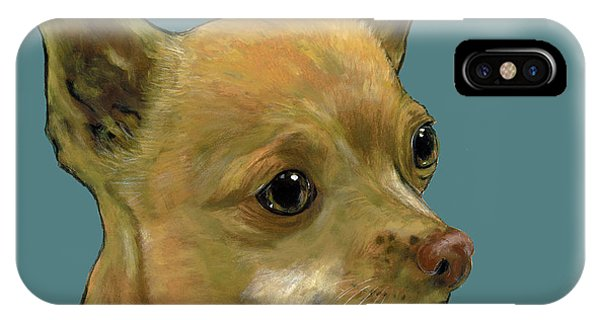 Tan Chihuahua IPhone Case