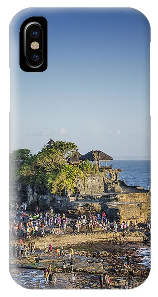 Tanah Lot Temple In Bali Indonesia Coast IPhone Case
