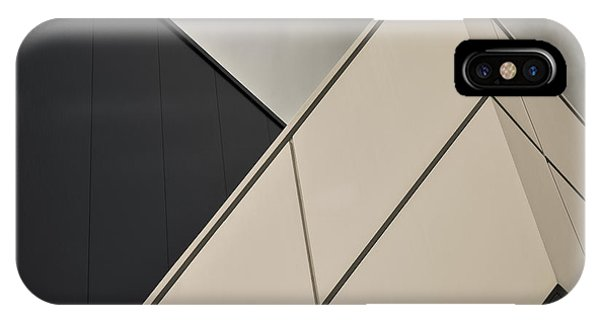 Angle iPhone X Case - Tangential by Gilbert Claes