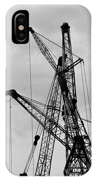 Tangled Crane Booms IPhone Case