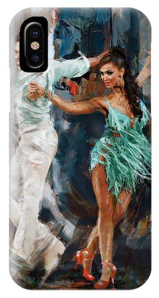 Tango iPhone Case - Tango 4 by Mahnoor Shah