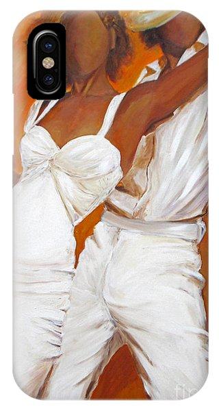 Tango Blanco IPhone Case