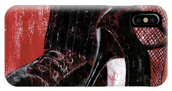 Tango iPhone Case - Tango by Debbie DeWitt