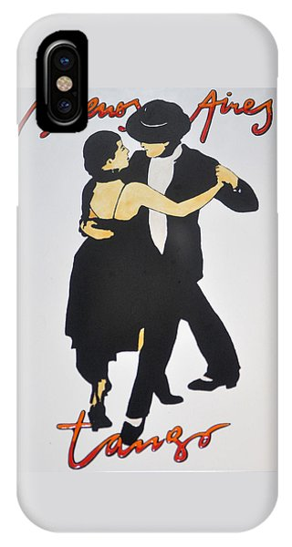 Tango In Buenos Aires IPhone Case