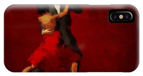 Tango iPhone Case - Tango by John Edwards
