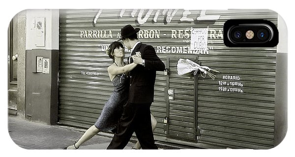 Tango On The Streets Of Buenos Aires- Argentina II IPhone Case
