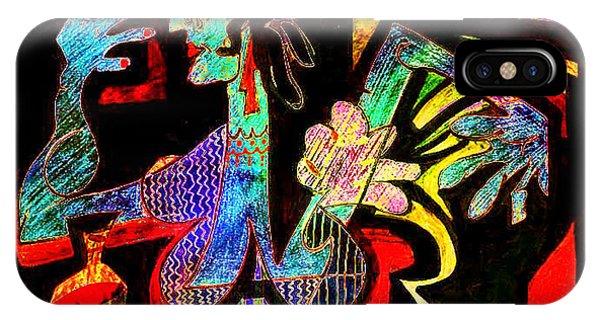 Tango Picasso-ii IPhone Case