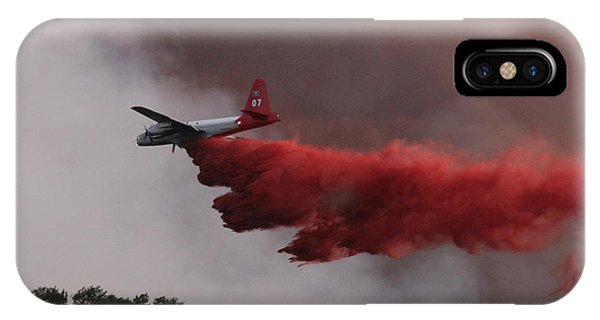 Tanker 07 Drops On The Myrtle Fire IPhone Case