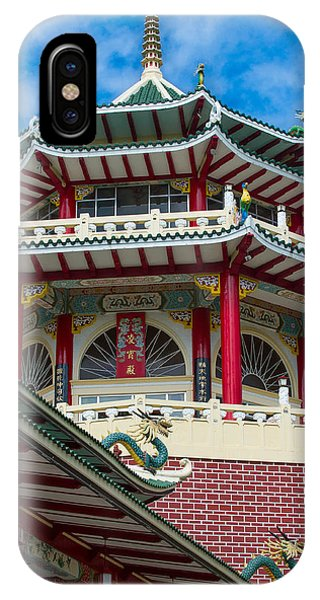 Taoist Temple Cebu Philippines IPhone Case