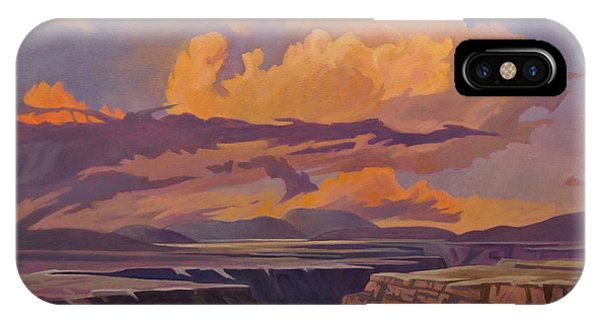Taos Gorge - Pastel Sky IPhone Case