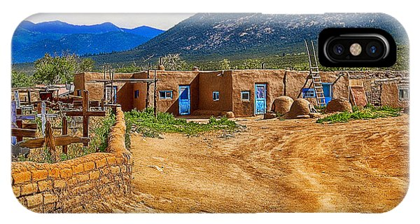 Taos Graveyard IPhone Case