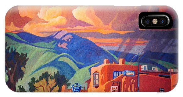 Taos Inn Monsoon IPhone Case