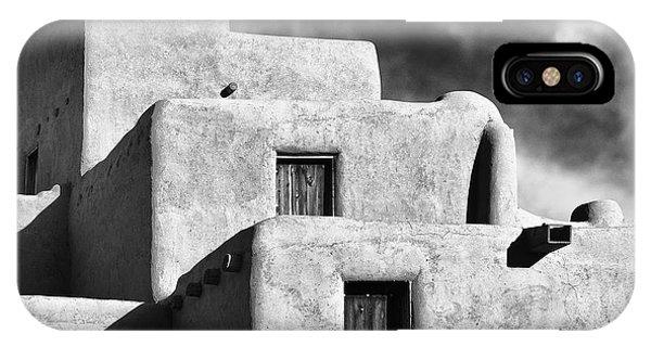 Taos Pueblo Stacks IPhone Case