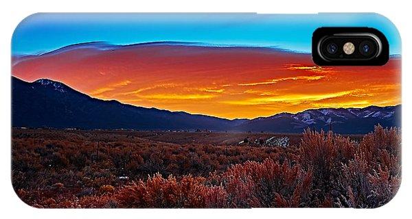 Taos Sunrise X IPhone Case