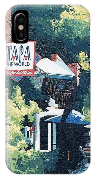 Tapa The World Phone Case by Paul Guyer