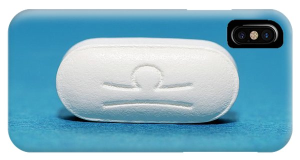 Chronic Pain iPhone Case - Tapentadol Painkiller Drug by Dr P. Marazzi/science Photo Library