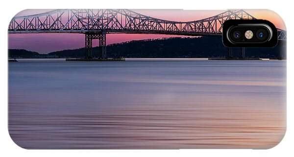 Tappan Zee Bridge Sunset IPhone Case