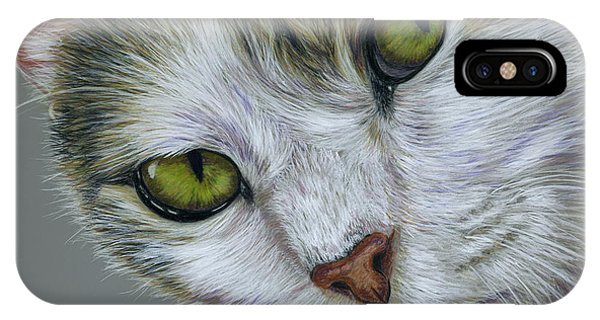 Tara Cat Art IPhone Case