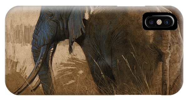 Tarangire Bull IPhone Case