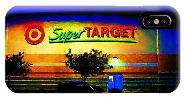 Target Super Store B IPhone Case