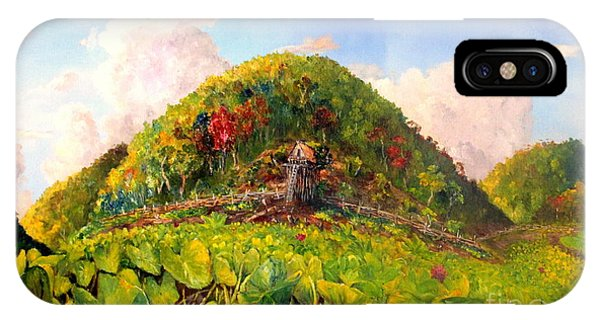 Taro Garden Of Papua IPhone Case