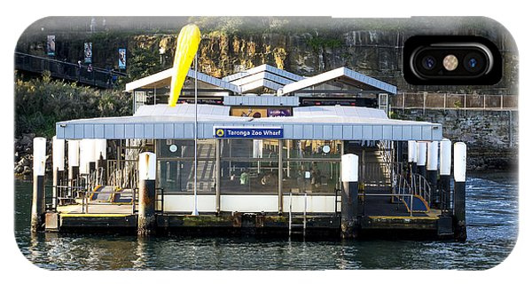Taronga Zoo Wharf IPhone Case