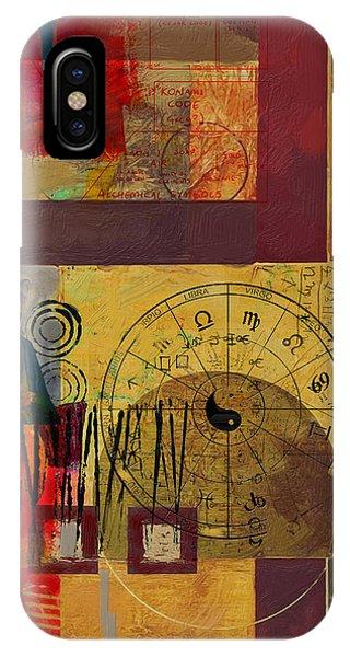 Tarot Card Abstract 003 IPhone Case