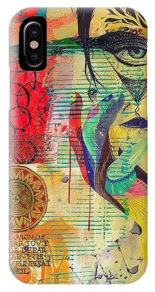 Tarot Card Abstract 007 IPhone Case